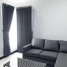 Desain interior gorden gordyn hordeng ideal untuk ruangan