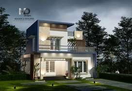 thrissur kaiparabe ponnur 5 cent 3 bhk specious new villa