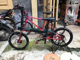 Sepeda lipat Dahon ion denver full upgrade