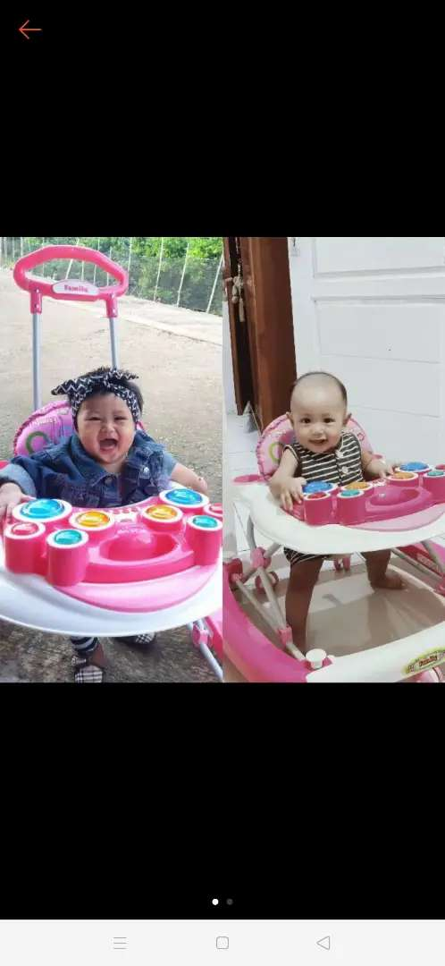BABY WALKER FAMILY BEKAS / SECOND