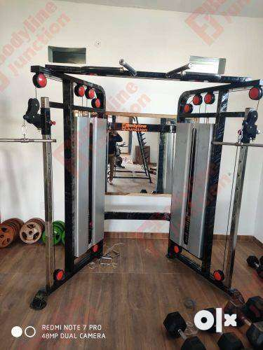 Get full gym setup in heavy duty & imported look machine in your city. 0