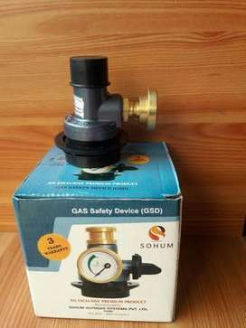 Gas Safety Device Leakage Detector with Auto Cut Off