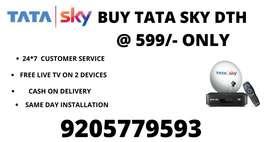 BIG SALE ON SKY HD CONNECTION TATA