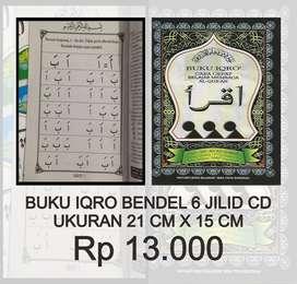 Buku Iqro' (Besar) Cara Cepat Belajar Membaca Qur'an Rasmul Utsmani