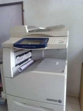 CMYK Xerox Workcenter 7435