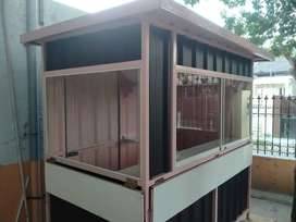 Booth semi kontainer / container