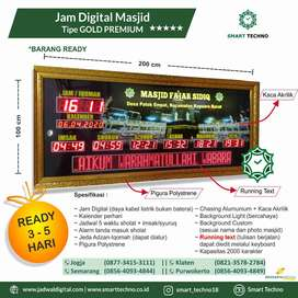 Pusat Jam Digital Masjid Berkualitas Gold Premium