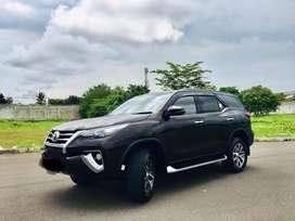 Toyota fortuner VRZ 2.4 diesel 2018 AT phantom brown metallic