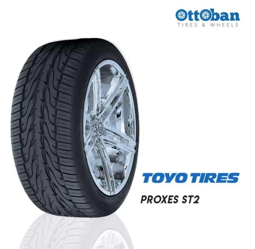 Ban mobil Toyo proxes S/T2 ukuran 285/60 R18 bisa untuk Pajero Hilux 0
