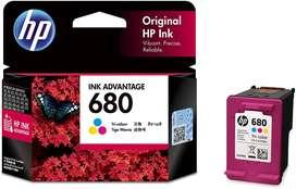 HP 680 Tri-color Original Ink Advantage Cartridge