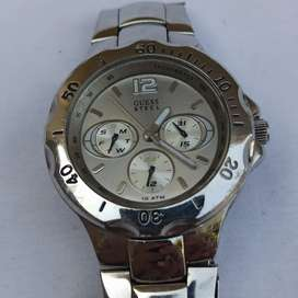 Original Guess Steel Waterpro Quartz Watch