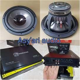 Paket audio berkualitas monoblock tenaga badak (asy'ari audio)
