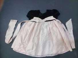 Baju Dress Anak Batita Import