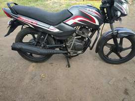 TVS Sport in a fresh condition.