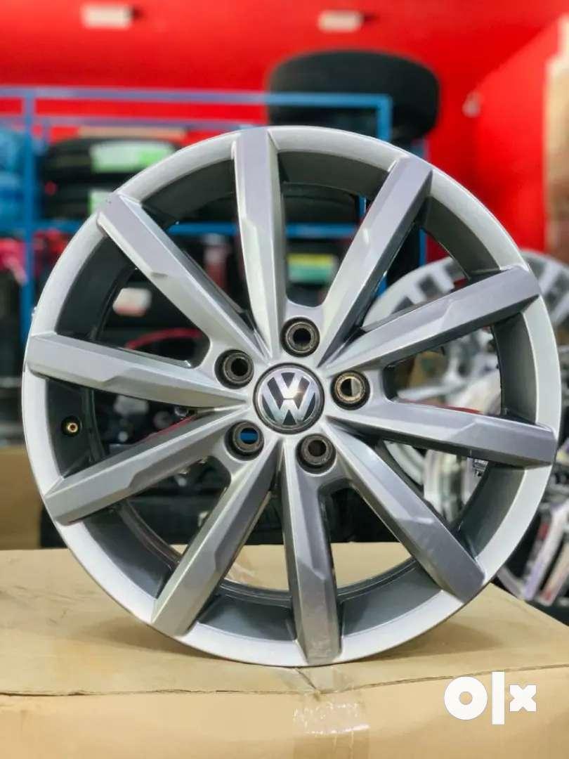 Volkswagen Polo GT Stock Alloys Gun metal Grey 0