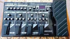 Boss me 70. Guitar processor