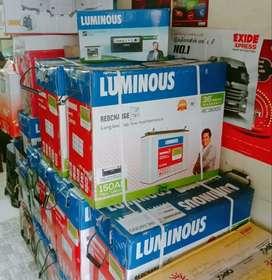 LUMINOUS 1 kv ups + 150 Ah battery