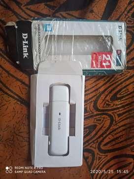 D-Link Wireless Data Modem USB, 3G/2G Network Sim Support