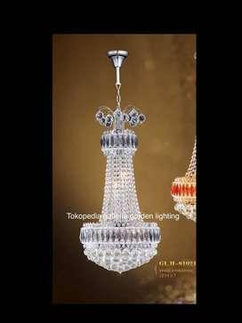 lampu gantung kristal dekorasi ruang tamu 81021/40 ID63
