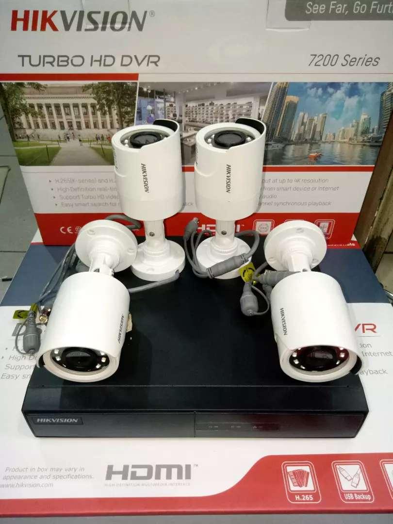 Paket CCTV Hikvision harga ekonomis free pasang ok banget(bergaransi) 0