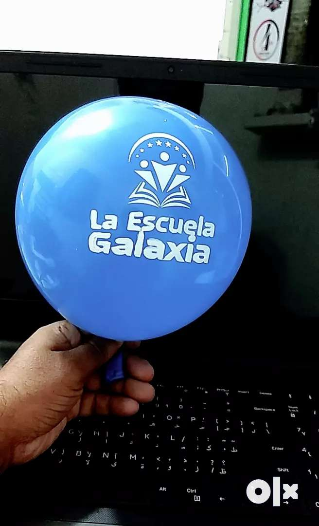 Baloon printing with your logo and photo 0