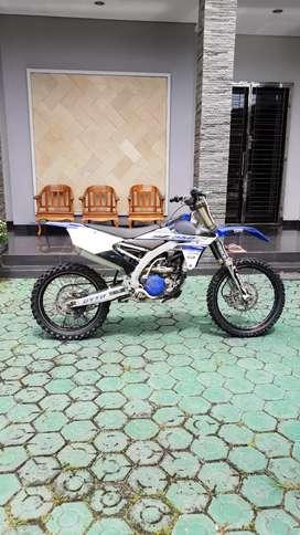Yamaha yz250f 2016 special engine