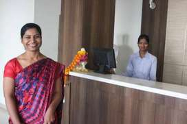 Required Receptionist in Hotel Industry