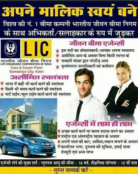 Work as Insurance Consultant In Govt owned L.I.C. & earn unlimited