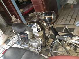 Vintage bike yezdi