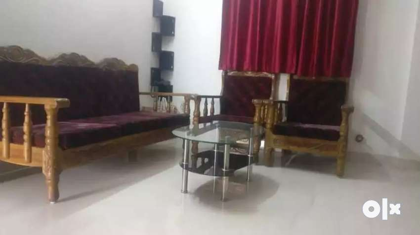 Wooden 3+2 Sofa along with Centre table 0