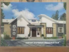 New House, Teak Wood, Full Boundary Wall etc
