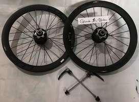 Wheelset Luce 16-349 discbrake