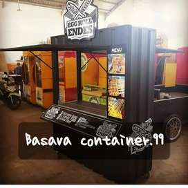 Booth container-booth jualan-booth bazzar-booth usaha-booth makanan