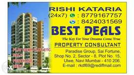 no brokerage.best deals property consultan sector 8, ulwe, navi mumbai