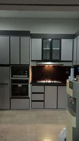 Lemari dapur aluminium anti karat