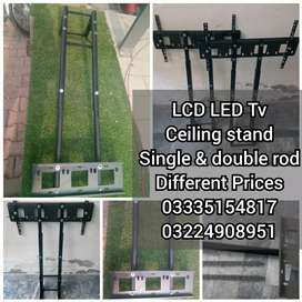 Lcd led tv ceiling stand