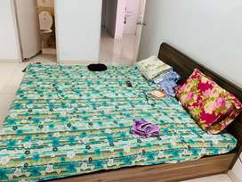 2BHK GIRLS ONLY SEMI FURNISHED EXCELLENT LOCATION  NEAR SVNIT