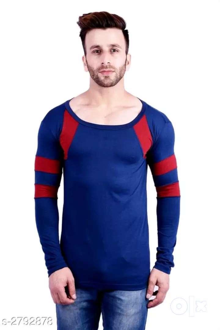 Men's stylish cotton t-shirts 0