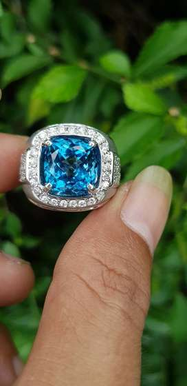 NATURAL BLUE TOPAZ (LONDON BLUE)