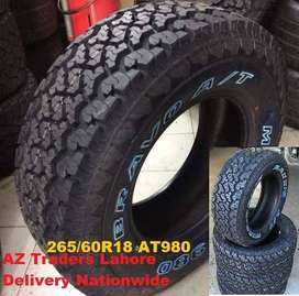 265/60R18 AT980 Maxxis Thailand All Terrain A/T Brand New 4x Tyres 18
