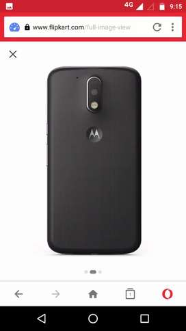 Motorola G4 plus (32 GB) 3GB Ram  finger print