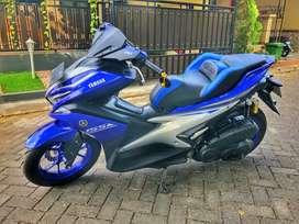 Yamaha Aerox 2017 mulus terawat full bonus