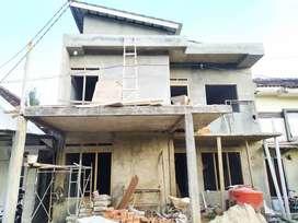 Rumah 2 lantai belakang Pizza ZA Pagar Alam Bandar Lampung