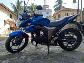 Suzuki gixser 155 cc 2015 model