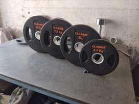Brand New rubber Dumbells