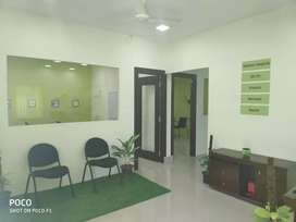 2000 sqft office for rent and interiors for sale