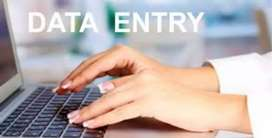 Data entry job part time pc and lep is must