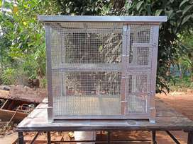 Hen cage two layer