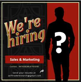 URGENT LOOKING FOR FRESHERS AND EXPERIENCE CANDIDATE FOR TELEMARKETING