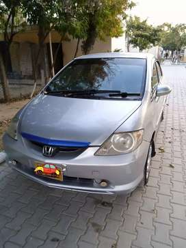 Honda City 2005 silver color very good condition